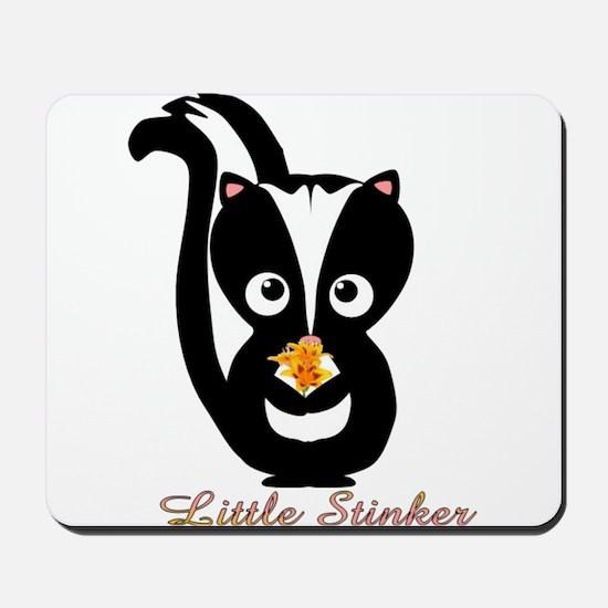 Little Stinker Baby Skunk Mousepad