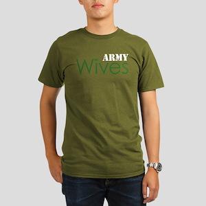 Army Wives Diamond Organic Men's T-Shirt (dark)