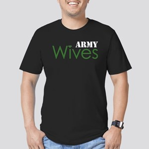 Army Wives Diamond Men's Fitted T-Shirt (dark)