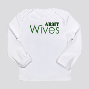 Army Wives Diamond Long Sleeve Infant T-Shirt