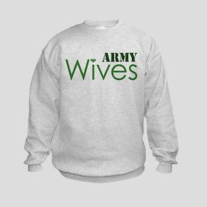 Army Wives Diamond Kids Sweatshirt
