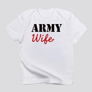 Cute Army Wife Infant T-Shirt