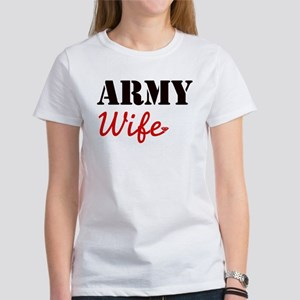 Cute Army Wife Women's T-Shirt