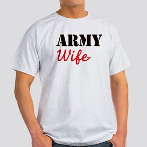 Cute Army Wife Light T-Shirt