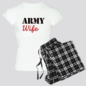 Cute Army Wife Women's Light Pajamas