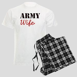 Cute Army Wife Men's Light Pajamas