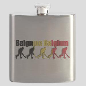 Belgium Field Hockey Flask