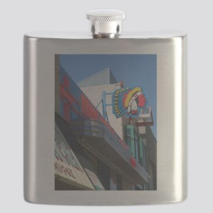Albuquerque Street Scene Flask