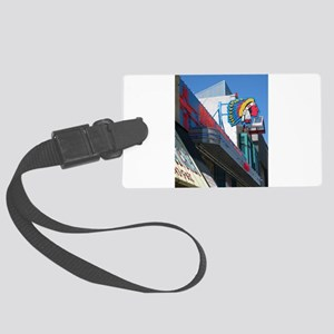 Albuquerque Street Scene Large Luggage Tag