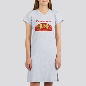 Id rather be at The Hump Bar Women's Nightshirt