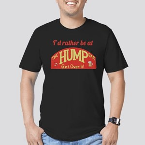 Id rather be at The Hump Bar Men's Fitted T-Shirt