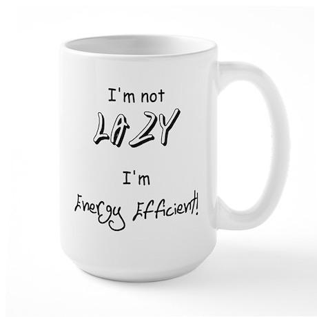 Large Lazy Mug