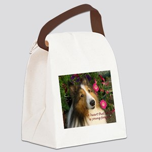 A heart that loves Canvas Lunch Bag