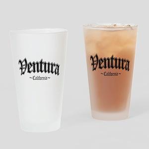 Ventura CA Drinking Glass