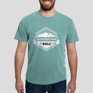Phi Mu Delta Ribbon Mens Comfort Colors Shirt