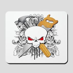 Handyman Skull Mousepad