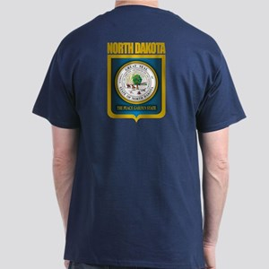 North Dakota Seal (B) Dark T-Shirt