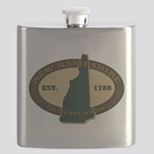 New Hampshire Est 1820 Flask