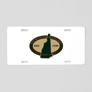 New Hampshire Est 1820 Aluminum License Plate