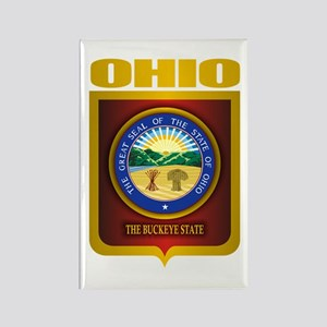 Ohio State Seal (B) Rectangle Magnet