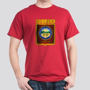 Ohio State Seal (B) Dark T-Shirt