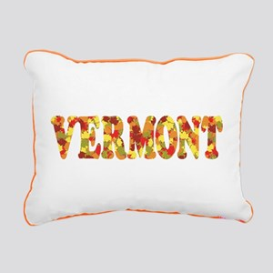 Autumn in Vermont Rectangular Canvas Pillow