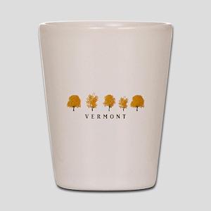 Autumn Trees - Vermont Shot Glass