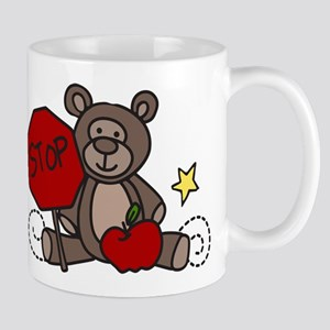 Crossing Guard Bear Mug
