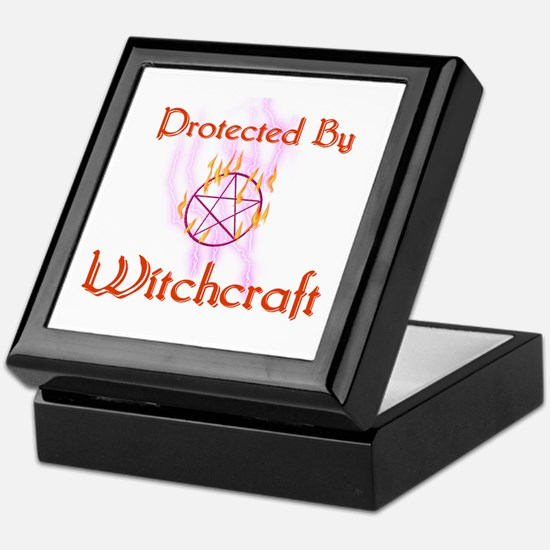 Protected By Witchcraft Keepsake Box
