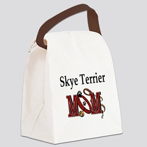 Skye Terrier Mom Canvas Lunch Bag