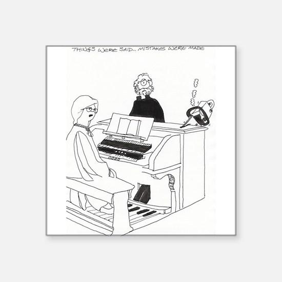 "Organ Inklings Square Sticker 3"" x 3"""