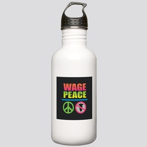 Wage Peace Rainbow Stainless Water Bottle 1.0L