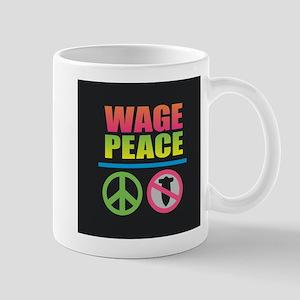 Wage Peace Rainbow Mugs