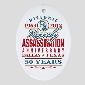 Kennedy Assassination Anniversary 2013 Ornament (O