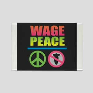 Wage Peace Rainbow Magnets