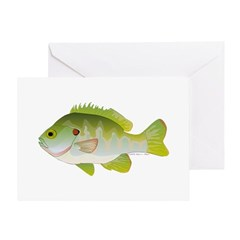 Redear Sunfish fish Greeting Card