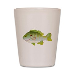 Redear Sunfish fish Shot Glass