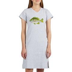 Redear Sunfish fish Women's Nightshirt