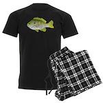 Redear Sunfish fish Men's Dark Pajamas
