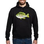 Redear Sunfish fish Hoodie (dark)