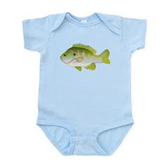 Redear Sunfish fish Infant Bodysuit