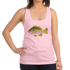 Redear Sunfish fish Racerback Tank Top