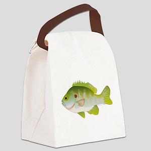 Redear Sunfish fish Canvas Lunch Bag