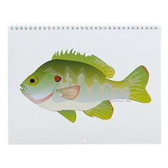 Sunfish Fish Wall Calendar