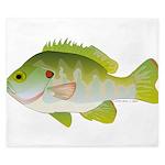 Redear Sunfish fish King Duvet
