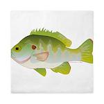 Redear Sunfish fish Queen Duvet