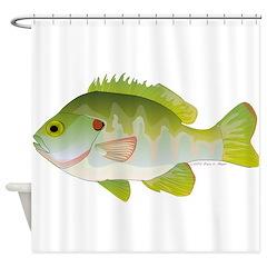 Redear Sunfish fish Shower Curtain