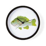 Redear Sunfish fish Wall Clock