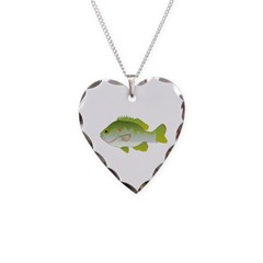 Redear Sunfish fish Necklace