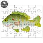 Redear Sunfish fish Puzzle